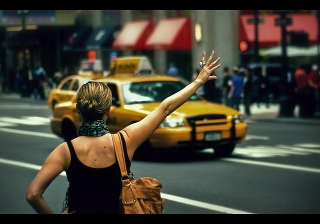 การเรียก Taxi ในอเมริกา